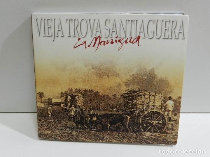 DISCO CD. VIEJA TROVA SANTIAGUERA - LA MANIGUA. COMPACT DISC. (Música - CD's Latina)