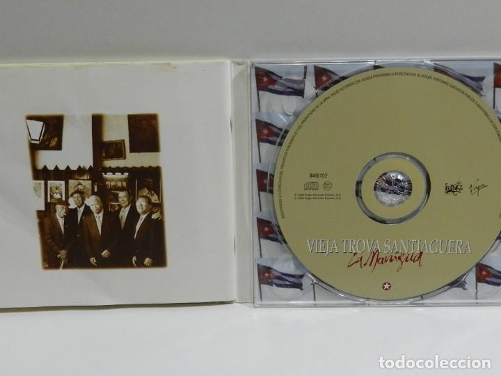 CDs de Música: DISCO CD. VIEJA TROVA SANTIAGUERA - LA MANIGUA. COMPACT DISC. - Foto 2 - 224649241