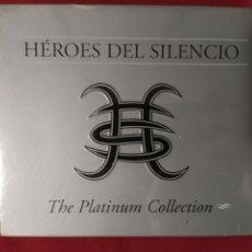 CDs de Música: HÉROES DEL SILENCIO / BUNBURY / THE PLATINUM COLLECTION EMI. Lote 224678123