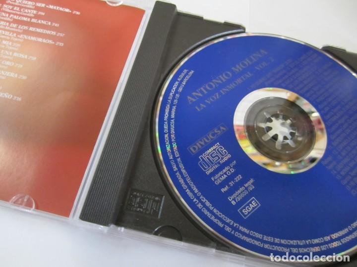 CDs de Música: lote 2 cd antonio molina la voz inmortal vol 2 y 3 - Foto 3 - 224692488