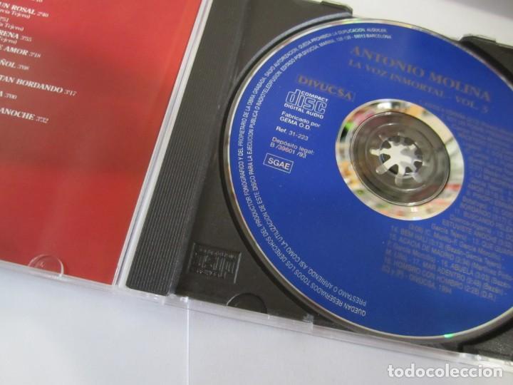 CDs de Música: lote 2 cd antonio molina la voz inmortal vol 2 y 3 - Foto 4 - 224692488