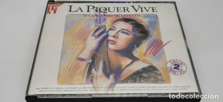 CONCHITA PIQUER - LA PIQUER VIVE, 26 CANCIONES DE LEYENDA - DOBLE LP. DEL SELLO EMI 1991 (Música - CD's Otros Estilos)