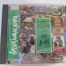 CDs de Música: CD AMERICAMANTA ECUADOR LA FUSION DE LOS ANDES. Lote 224709588