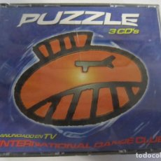 CDs de Música: TRIPLE CD PUZZLE INTERNATIONAL DANCE CLUB. Lote 224727536