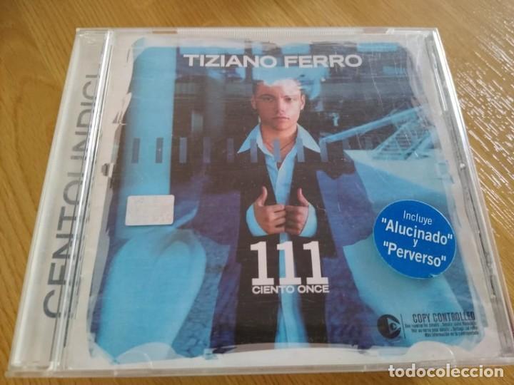 TIZIANO FERRO CD 111 CIENTO ONCE IMPORTADOCON BONUS TRACK (Música - CD's World Music)