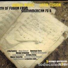 CDs de Música: LITTO NEBBIA - WORLD MUSIC LATIN SOUTH FUSION - BOX 3 CDS. Lote 224781758