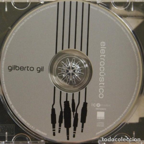 CDs de Música: GILBERTO GIL ELETRACÚSTICO ...ELECTROACÚSTICO CD 2004 - Foto 4 - 224805070