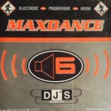 CDs de Música: CD MAXDANCE 6 , DJ'S WORKING , EDICION MEXICO , NUEVO Y PRECINTADO.. Lote 224812936
