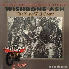 CDs de Música: WISHBONE ASH - THE KING WILL COME LIVE (CD). Lote 224901456