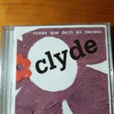 CDs de Música: CD CLYDE. COSAS QUE DEJÓ EL VERANO. FEDERACIÓN DE UNIVERSO POP. Lote 224914705