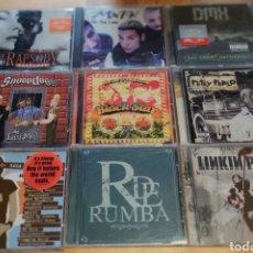 CDs de Música: LOTE 40 CD'S HIP HOP, RAP, ROCK. Lote 224939566