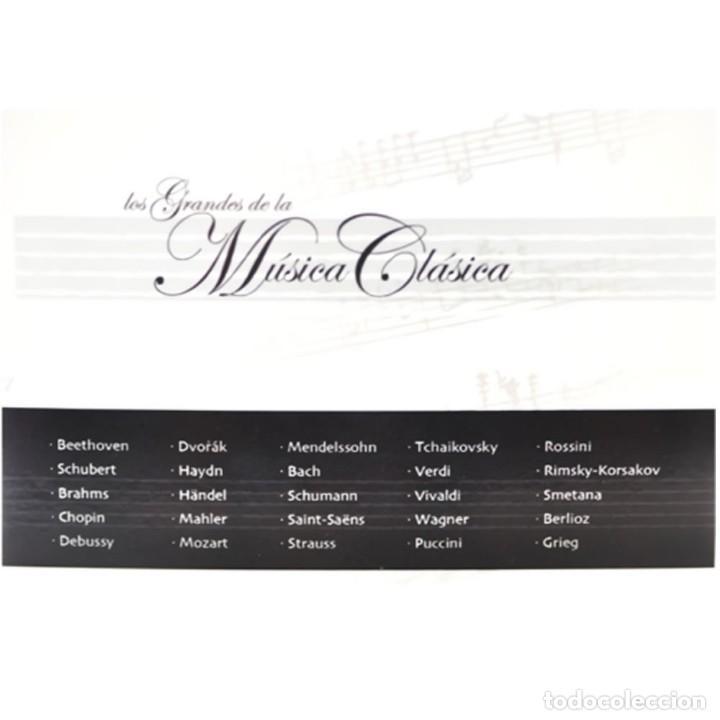 CDs de Música: GRANDES MAESTROS MÚSICA CLÁSICA COLECCIÓN 25CDs - Foto 3 - 224954730
