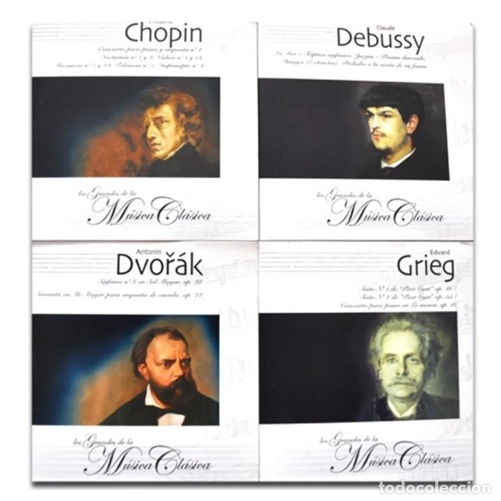 CDs de Música: GRANDES MAESTROS MÚSICA CLÁSICA COLECCIÓN 25CDs - Foto 5 - 224954730