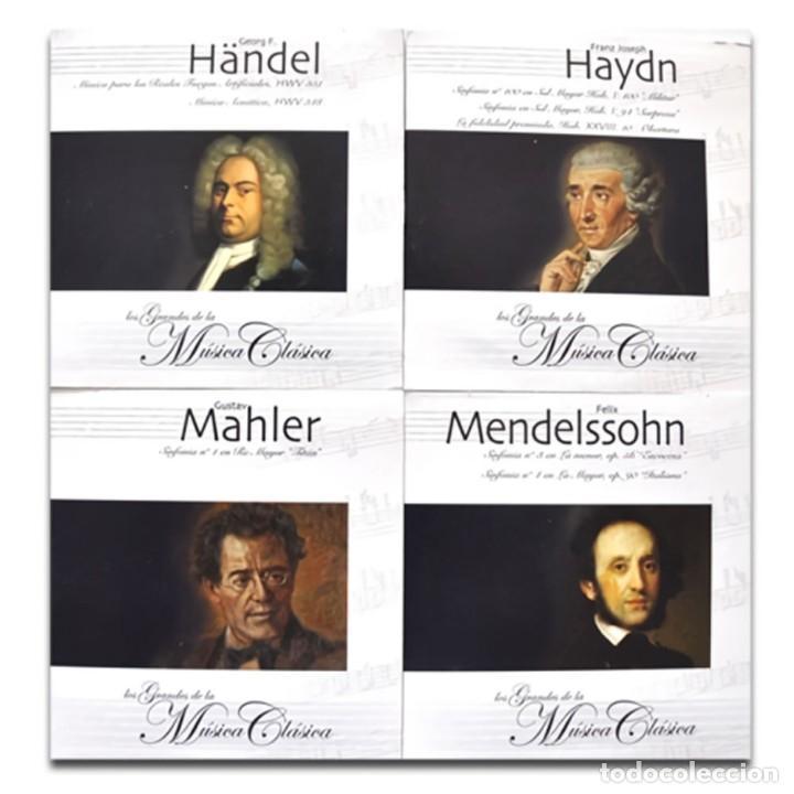 CDs de Música: GRANDES MAESTROS MÚSICA CLÁSICA COLECCIÓN 25CDs - Foto 6 - 224954730