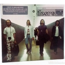 CDs de Música: THE DOORS: LIVE IN VANCOUVER 1970 (2 CD) (THE DOORS MUSIC COMPANY) (CB). Lote 224957590
