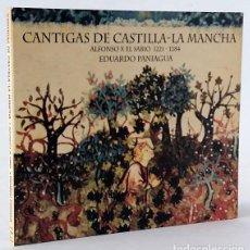CDs de Música: PANIAGUA, EDUARDO: CANTIGAS DE CASTILLA-LA MANCHA (PNEUMA) (CB). Lote 224957905