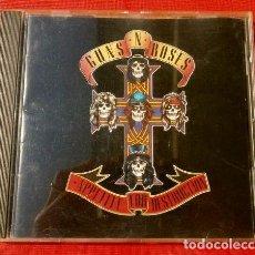 CDs de Música: GUNS 'N' ROSES (CD 1987) APPETITE FOR DESTRUCTION - GUNS N ROSES - GEFFEN EUROPE - ROCK HEAVY METAL. Lote 224983120