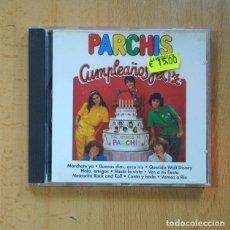 CD de Música: PARCHIS - CUMPLEAÑOS FELIZ - CD. Lote 225025823
