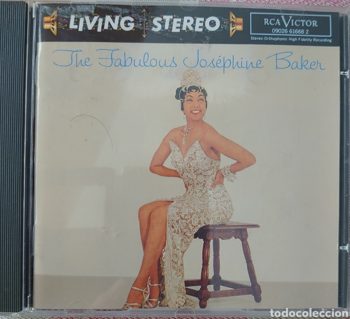 JOSEPHINE BAKER CD SELLO RCA VÍCTOR EDITADO EN USA...AÑO 1995 (Música - CD's World Music)