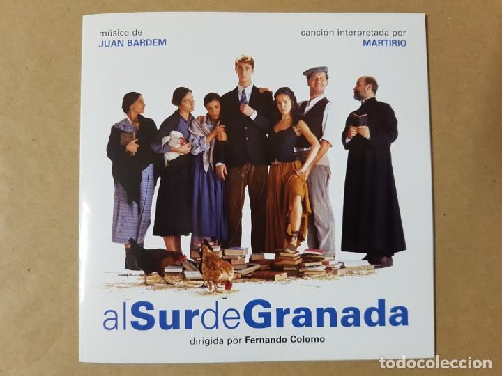 BSO ORIGINAL AL SUR DE GRANADA DE FERNANDO COLOMO CON VERÓNICA SÁNCHEZ. CINE ESPAÑOL (Música - CD's Bandas Sonoras)
