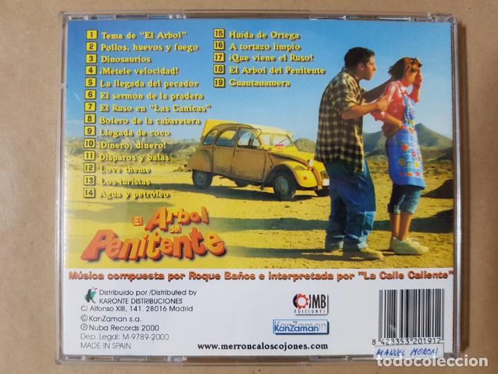 CDs de Música: BSO Original El Árbol del Penitente con Elena Anaya y Alfredo Landa. Cine Español - Foto 2 - 225079808
