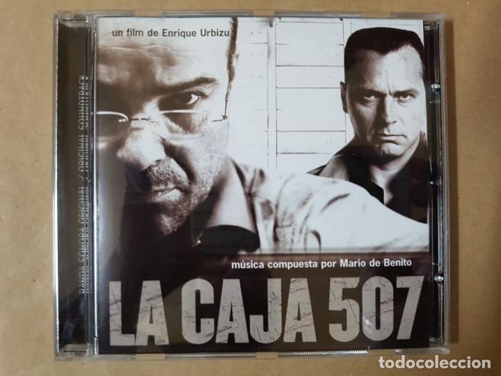 BSO ORIGINAL LA CAJA 507 CINE ESPAÑOL. DIRIGIDA POR ENRIQUE URBIZU (Música - CD's Bandas Sonoras)