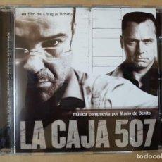 CDs de Música: BSO ORIGINAL LA CAJA 507 CINE ESPAÑOL. DIRIGIDA POR ENRIQUE URBIZU. Lote 225080138