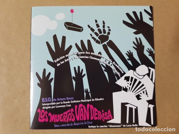 BSO ORIGINAL LOS MUERTOS VAN DEPRISA (LOST IN GALICIA). CINE ESPAÑOL (Música - CD's Bandas Sonoras)