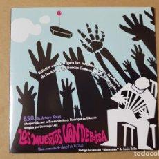 CDs de Música: BSO ORIGINAL LOS MUERTOS VAN DEPRISA (LOST IN GALICIA). CINE ESPAÑOL. Lote 225080653