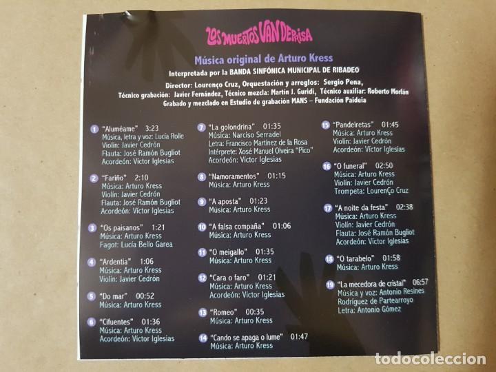 CDs de Música: BSO Original Los Muertos van Deprisa (Lost in Galicia). Cine Español - Foto 2 - 225080653