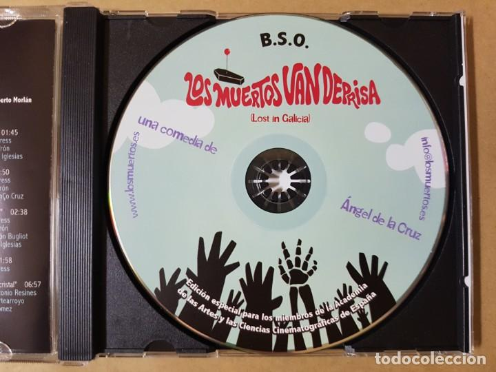 CDs de Música: BSO Original Los Muertos van Deprisa (Lost in Galicia). Cine Español - Foto 3 - 225080653