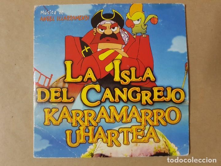 BSO ORIGINAL LA ISLA DEL CANGREJO (KARRAMARRO UHARTEA) DE ÁNGEL ILLARRAMENDI. CINE ESPAÑOL (Música - CD's Bandas Sonoras)
