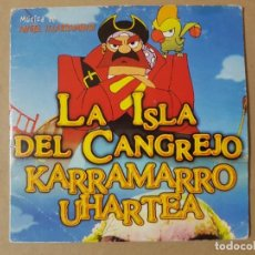 CDs de Música: BSO ORIGINAL LA ISLA DEL CANGREJO (KARRAMARRO UHARTEA) DE ÁNGEL ILLARRAMENDI. CINE ESPAÑOL. Lote 225080810