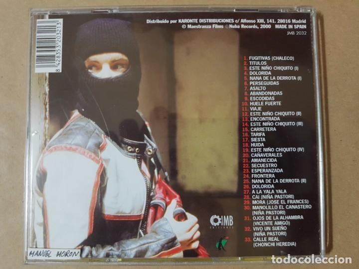 CDs de Música: BSO Original de Fugitivas. Cine Español - Foto 2 - 225080920