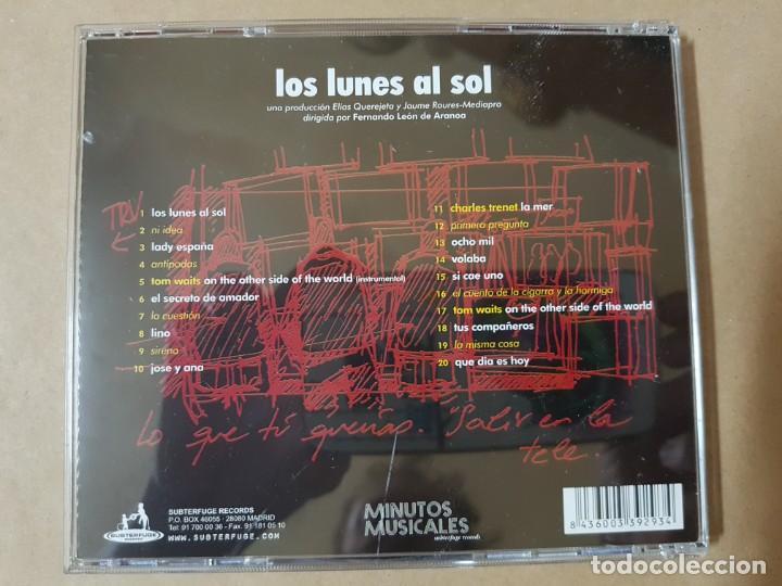 CDs de Música: BSO Original Los Lunes al Sol Lucio Godoy Luis Tosar Cine Español - Foto 2 - 225081271