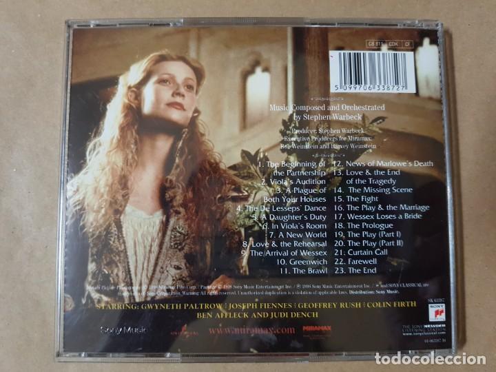 CDs de Música: BSO Original Shakespeare in Love - Foto 2 - 225081343