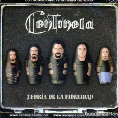 CDs de Música: CENTINELA - TEORIA DE LA FIDELIDAD - ALBUM PROMO. Lote 261855570