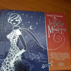 CDs de Musique: 3CDS TRILOGÍA FRANCESA. LA BELLE MUSIQUE. EDITH PIAF, BRIGITTE BARDOT, LA VIE EN ROSE. Lote 225180642