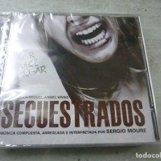CDs de Música: SECUESTRADOS / SERGIO MOURE CD BSO - C 3. Lote 253472435