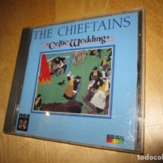 CDs de Música: CD THE CHIEFTANS. CELTIC WEDDING. MUSIC OF BRITTANY PLAYED BY IRISH MUSICIANS. 1987. Lote 225258550