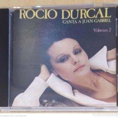 CDs de Música: ROCIO DURCAL (CANTA A JUAN GABRIEL VOLUMEN 2) CD 1990. Lote 225332106