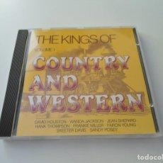 CDs de Música: THE KINGS OF COUNTRY AND WESTERN BRIDGE 100.013-2 - EXCELENTE ESTADO. Lote 225542650