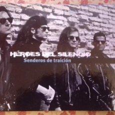 CDs de Música: CD HEROES DEL SILENCIO SENDEROS DE TRAICIÓN + LIBRO EL PAIS ED 2007. Lote 225557507