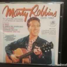 CDs de Música: MARTY ROBBINS SUS GRANDES CANCIONES - CD SPAIN 2001 PDELUXE. Lote 225619485