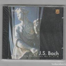CDs de Música: J.S.BACH- CONCIERTOS DE BRANDENBURGO -Nº 4-5 Y 6-CON SU PRECINTO. Lote 225627547