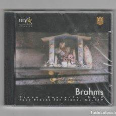CDs de Música: BRAHMS- CONCIERTO PARA PIANO- PRECINTADO. Lote 225628450