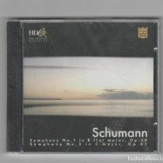 CDs de Música: SCHUMANN- SINFONIA Nº 1 Y Nº 2- NUEVO-PRECINTADO. Lote 225629321