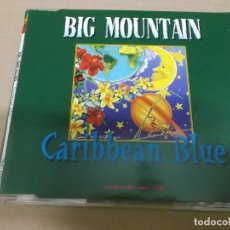 CDs de Música: BIG MOUNTAIN (CD-SINGLE) CARIBBEAN BLUE (4 TRACKS) AÑO 1995. Lote 225652376