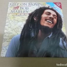CDs de Música: BOB MARLEY (CD-SINGLE) KEEP ON MOVING (2 TRACKS) AÑO 1995. Lote 225652620
