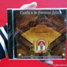 CDs de Música: CD.CANTO A LA SEMANA SANTA. ESCOLANÍA PUERI CANTORES DE LA CATEDRAL DE BURGOS.PRECINTADO. NUEVO.. Lote 225747305